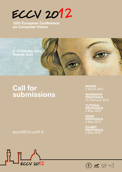 ECCV 2012 - Poster